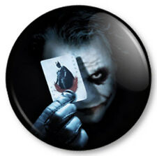 "The Joker 1"" 25mm Pin Button Badge Batman Superhero Dark Knight Heath Ledger"
