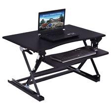 Sitz-Steh-Schreibtisch Schreibtischaufsatz Laptop-Ständer Monitorständer