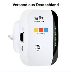 WLAN Repeater WIFI Extender Internet Verstärker 300Mbps 2.4GHz Versand aus DE