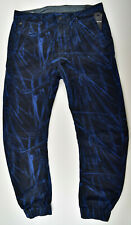 G-STAR RAW, Bronson Zip Tapered Cuffed, W33 L32 Camouflage Stretch Jeans