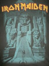 "2008 Hanes Label - IRON MAIDEN ""Powerslave"" (MED) T-Shirt BRUCE DICKERSON"