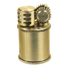 New Model Stylish Steampunk Design Oil Lighter Douglass Neo4 Made in JAPAN Brass