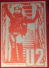 U2 NUMBER FOUR Magazine Pre-Propaganda August 82 Genuine Official Promo