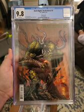 Cgc 9.8 Dark Nights Death Metal #6 Finch Swamp Thing Variant DC comic