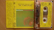 Bob Dylan – Bob Dylan's Greatest Hits 2 YUGOSLAVIAN TAPE 1982 ... FREE SHIPPING