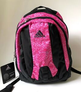 Women Adidas Journal Large Capacity BackPack Shock Pink 3D Excel/Black