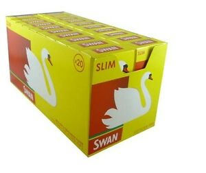 NEW SWAN POP A TIP SLIM PRECUT FILTER TIPS FULL BOX OF 20