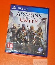 Assassins Creed Unity PS4 Playstation 4 neuf et scellé