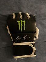 Connor McGregor signed Monster Energy MMA Gloves