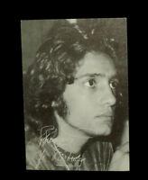 FREDERIC FRANCOIS 70s VINTAGE PHOTO  SOUPLE CARTE FREDERIC FRANCOIS