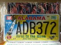 PLAQUES TOLEE immatriculation AMERICAINE USA 15 X 30 cm : ALABAMA
