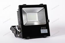 2835 100w BIANCO FREDDO FARO LED DA ESTERNI FLOOD LIGHT LUCE IMPERMEABILE IP65