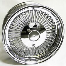 15x7 Wire wheels chrome 4x100 4x108 4x115 Standard offset
