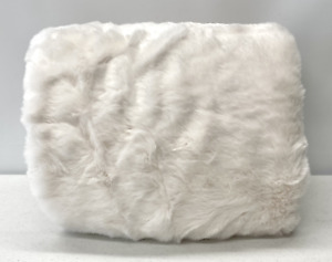 NEW Pottery Barn KIDS Faux Fur Anywhere Beanbag Slipcover Cover~Ivory~NO MONO