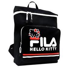 FILA x Hello Kitty Backpack Black School Bag Sanrio New