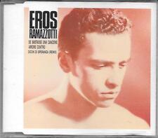 "EROS RAMAZZOTTI - RARO CDs 1990 "" SE BASTASSE UNA CANZONE """