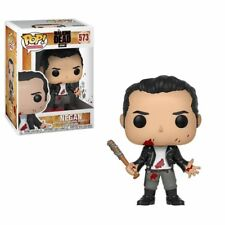 The Walking Dead Negan Clean Shaven with lucille Funko Pop Figure Serie Tv Amc