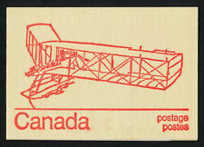 Canada 586a Booklet BK74a Burgess Dunne MNH Queen Elizabeth, Caricatures