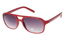 Gafas de sol de mujer rojo plástico 100% UV