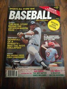 Baseball - Sports All Stars 1978, 25th Edition - 1978 Reggie Jackson NY Yankees!