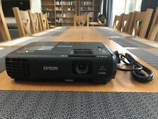 Epson EB-S03 HDMI Home Projector 2700 Lumen LCD only 236 Lamp Hours Used