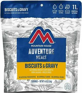 1 - Mountain House Freeze Dried Food Pouch - Biscuits and Gravy