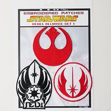 "STAR WARS ""Rebel Alliance"" Iron-On Patch Super Set #006 - FREE POSTAGE!"
