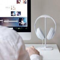 Metal Headphone Holder Display Stand Headset Earphone Rack Desk Hanger Home Chic