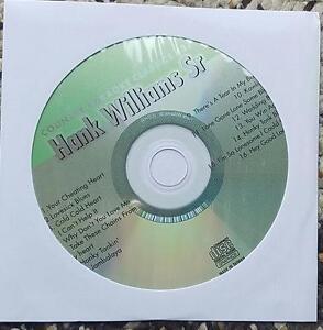 HANK WILLIAMS SR KARAOKE CDG COUNTRY KARAOKE CLASSICS CKC37 - LOVESICK BLUES