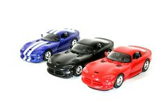 Vtg Dodge Viper GTS 1/25  Lot of 3 Dealer Promo Models AMT ERTL