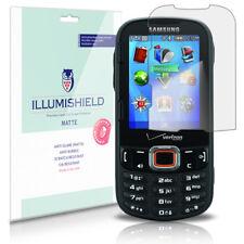 iLLumiShield Anti-Glare Matte Screen Protector 3x for Samsung Intensity III