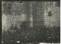 Gerusalemme ARRIVO Del Patriarca Greco a Santo Sepolcro Foto Vintage 1909