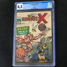Los Hombres X #10 (1966) 💥 CGC 4.5 💥 HIGHEST GRADED! X-Men 10 Mexican Edition