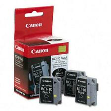 Canon BCI10 BCI-10 Ink Tank 3 Pack High-Yield Black