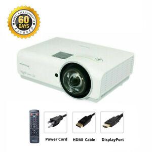 DisplayPort to HDMI Bundle - Promethean PRM-45V1 DLP Projector Short-Throw Movie