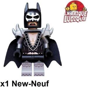 Lego Figurine Minifig série Batman Movie Glam Metal rockeur armor coltlbm02 NEUF