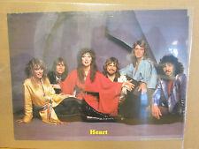 vintage Heart #1267 original rock band music artist poster 10847