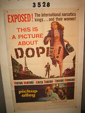 Pickup Alley Original 1sh Movie Poster '57 picture about DOPE!