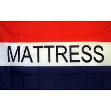 New listing Mattress Flag Banner Sign 3' x 5' Foot Polyester Grommets