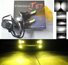 LED Kit G5 80W 9006 HB4 3000K Yellow Two Bulbs Head Light 4 Sides Emit Replace