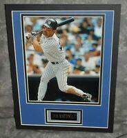 "Don Mattingly Matted Photo Display w/ Nameplate New York Yankees 11"" x 14"""