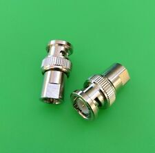 (2 PCS) FME Male to BNC Male Adapter - USA Seller