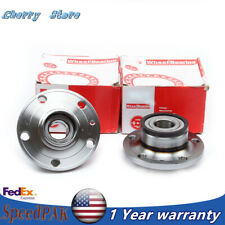 1T0 598 611 2x Rear Wheel Hub Bearing Set Fit For Audi A3 VW Passat Skoda Seat