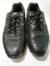 Nike Men's 8 Wide Golf Shoes Black Spikes Cleats 483249 - 001