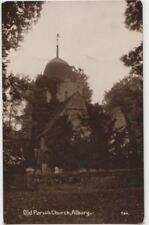 Old Parish Church Albury, Surrey RP Postcard B820