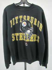 H0917 VTG 90s Pittsburgh Steelers 1998 NFL-Football Sweater Made in USA Size XL
