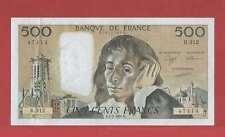 500 Francs pascal du 1-2-1990 Alphabet R.312  Billet N° 779147414