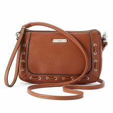 Chaps Nadine Laced Convertible Wristlet Crossbody NWT $39.00