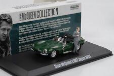 Steve McQueen 1957 Jaguar XKSS mit Figur Movie 1:43 Greenlight