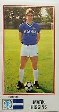 Panini Football 83 #92 Mark Higgins - Everton FC